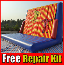 Velcro Bed Inflatable Jumping Castle Get Stuck to Wall 6M x 4M x 4M - 130kg