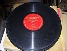 VERNON DALHART barbara allen / my blue ridge ( country ) 78 rpm champion 15246