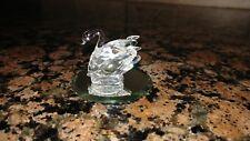 Swarovski Lead Crystal Swan