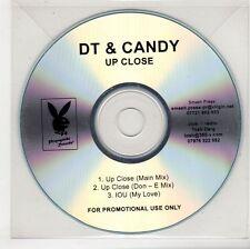 (GS402) DT & Candy, Up Close - DJ CD