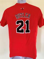 New Minor Flaw Chicago Bulls #21 Butler Youth Size L (14/16) Red Adidas Shirt