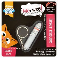 Good Girl Laser Pen Mouse Cat Kitten Toy Game Play Paw Pounce Batteries Included