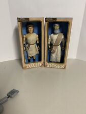 Messengers Of Faith Talking David & Moses Figure Religious Christian Bible