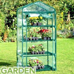 GARDEN 4 TIER GREENHOUSE Approx Size W50 x D45 x H130cm