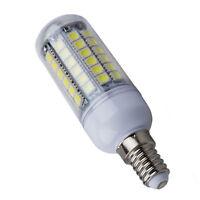 Bombilla Lampara Luz Blanco E14 8W 69 LED 5050 SMD AC 220V Bajo Consumo W3Z7