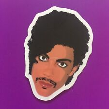 Prince Art Controversy Fan Tribute Commemorative Gloss Vinyl Sticker 5x4cm