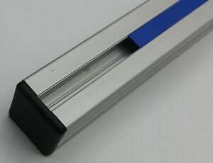 Abdeckkappe für Aluprofil 30x30 Nut 8 Bosch kompatibel schwarz