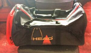 HEAD - Hold-all Canvas Sports Bag with Adjustable Strap / Black (New, Unused)