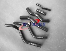 For Honda CR125R CR125 1990 91 92 93 94 95 96 1997 Silicone radiator hose BLACK