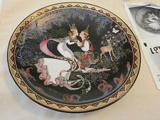 The Betrothal Collectors Plate The Love Story of Siam from Thailand #2427