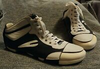 FESSURA XL Extralight navy white leather high top shoe Size 12 EUR 45 mummy?