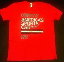 Chevy Corvette America's Sports Car 1953, Red Shirt, Size M, NWT, FREE SHIPPING!