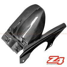 2006-2011 ZX-14 Rear Tire Hugger Chain Mud Guard Fender Fairing Carbon Fiber