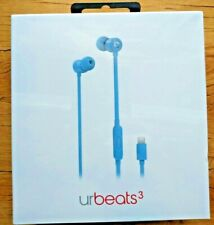 urBeats3 In-Ear Headphones with Lightning Connector - Blue19019894269 Brand New