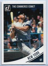 "MICKEY MANTLE (NY YANKEES) 2018 DONRUSS ""THE COMMERCE COMET"" VARIATION CARD #200"