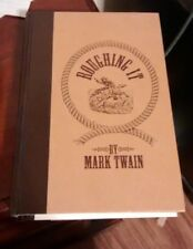 1994 Roughing It Hardcover By Mark Twain
