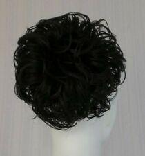 Soft Dome Chignon Updo Bun w/Drawstring Pageant Hair piece Wedding Piece Cover