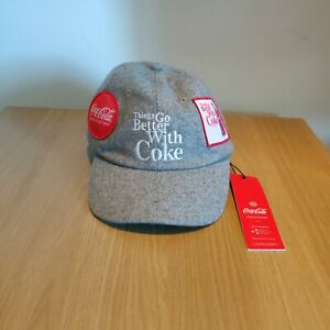Just Hype x Coca Cola 2017 Baseball Grey Summer Cap Hat  - New With Tags