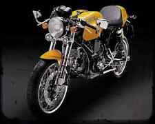 Ducati Sport1000Monoposto 1 A4 Metal Sign Motorbike Vintage Aged