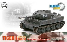 dragon armor 1/72, !!! Extra Rare !!! German Tiger I Hybrid,  Art.: 60290