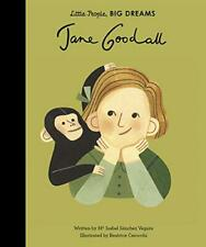 Jane Goodall (Little People, Big Dreams) by Sanchez Vegara, Isabel, NEW Book, FR