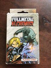 Fullmetal Alchemist Playing Cards 2003