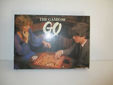 VINTAGE THE GAME OF GO BOARD GAME C.1981 - COMPLETE VGC