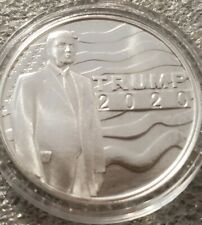 Donald Trump 2020 Keep America Great 1 oz .999 silver coin 45th President MAGA