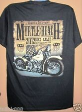 j56:New Sturgis Biker Rally Cotton T-Shirt-Medium-Black