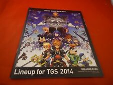 Tokyo Game Show 2014 (Japan) Catalog Kingdom Hears II.5 Cover PS4 PS3 Xbox One