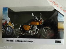 New Miniature Honda Motorcycle 750 Four 4 Wide 1/12 New Canned Automax