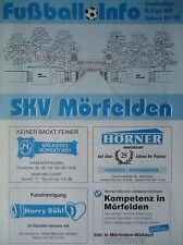 Programm 1996/97 SKV Mörfelden - KSV Klein Karben