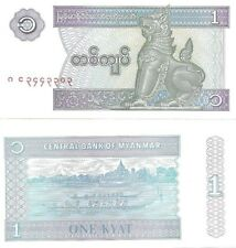 Billet BIRMANIE (MYANMAR) 1 KYAT   P-69 1996 NEUF/UNC