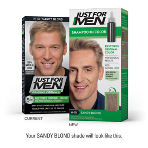 Just for Men Shampoo-In Hair Color - Pick Your Color (Blond, Brown, Black, etc)