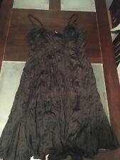Patch Maternity Size L 16 18 Womens Summer Dress Ladies Black