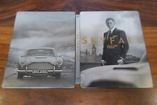 SKYFALL 007  - JAMES BOND       STEELBOOK   -- BLU RAY + DVD