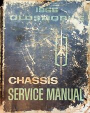 1965 General Motors 1966 Oldsmobile Chassis Service Manual Paperback