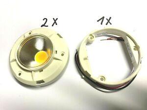 2 x Helieon, 180081-2220, MOLEX, 3000K, 710lm, Warm-Weiss, 1 Sockel 180080-0000