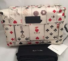 Paul Smith Uomini WASH BAG GIOCHI POKER RRP £ 145