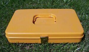 "Wil-hold Wilson Manufacturing Thread Bobbin Organizer Sewing Box 13"" x 8"" x 2.5"""