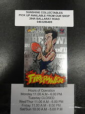 2013 AFL CHAMPIONS FIREPOWER CARICTURE FC34 JEREMY HOWE MELBOURNE