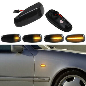 Dynamic LED Side Marker Blinker Light For BENZ CLK W202 W210 W208 Vito W638 R170