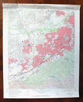 Riverside West California USGS Topo Map 1967 Rubidoux Mira Loma Topographical
