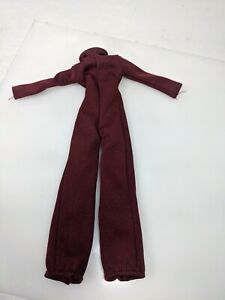 Vintage 1977 Mego Cher maroon Jumpsuit j.c. penny exclusive rare! As is