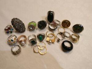20 costume rings