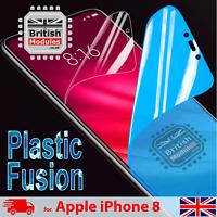 iPhone 8 Shockproof Nano Glass Plastic Fusion Shield Film Gel Screen Protector