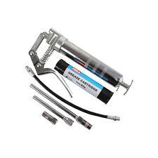 Grease Gun Mini Pistol Grip Flexible Hose & EP2 Lithium Cartridge Hilka 84800120