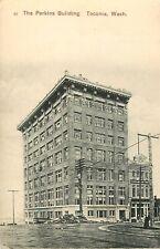 c1910 The Perkins Building, Tacoma, Washington Postcard