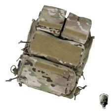 TMC Tactical Pouch Bag Zip Panel w/Mag Pouch NG Versión para AVS JPC2.0 CPC Vest