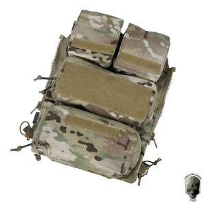 TMC Tactical Pouch Bag Zip Panel W/ Mag Pouch NG Version for AVS JPC2.0 CPC Vest